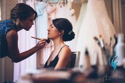 Maquillage professionnel mariée